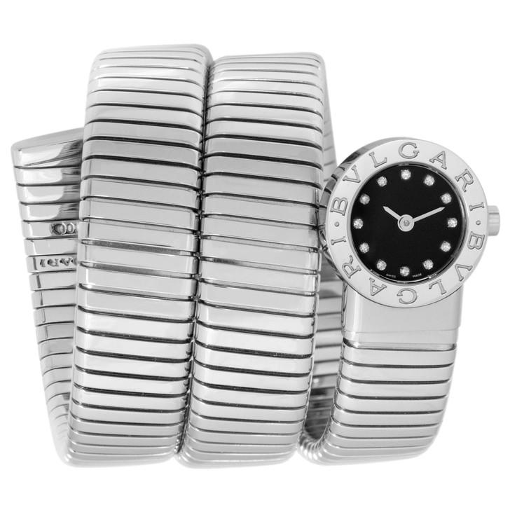 Bvlgari Bulgari Serpenti Tubogas Diamond Watch BB 19 1TS