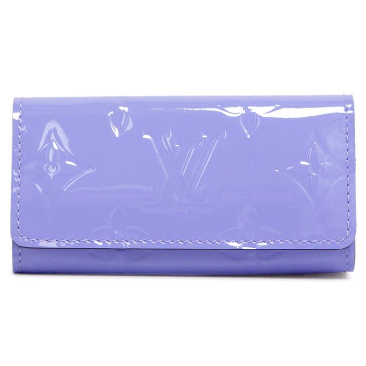 Louis Vuitton Lilas Vernis 4 Key Holder