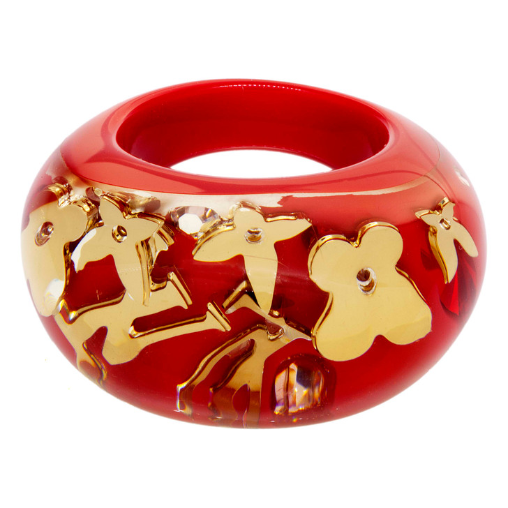 Louis Vuitton Red Inclusion Ring