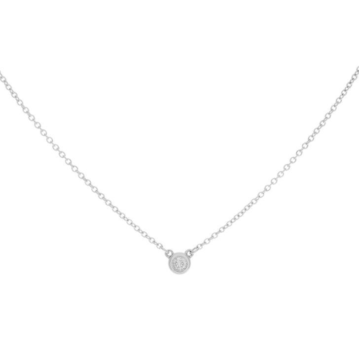 Tiffany & Co. Sterling Silver Diamonds By The Yard Pendant
