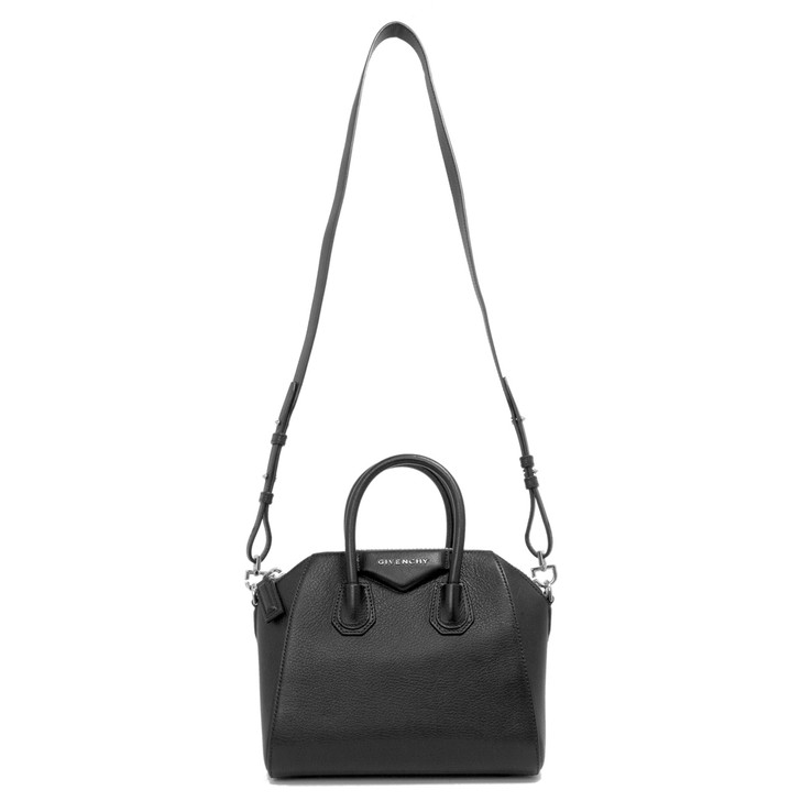 Givenchy Black Sugar Goatskin Mini  Antigona