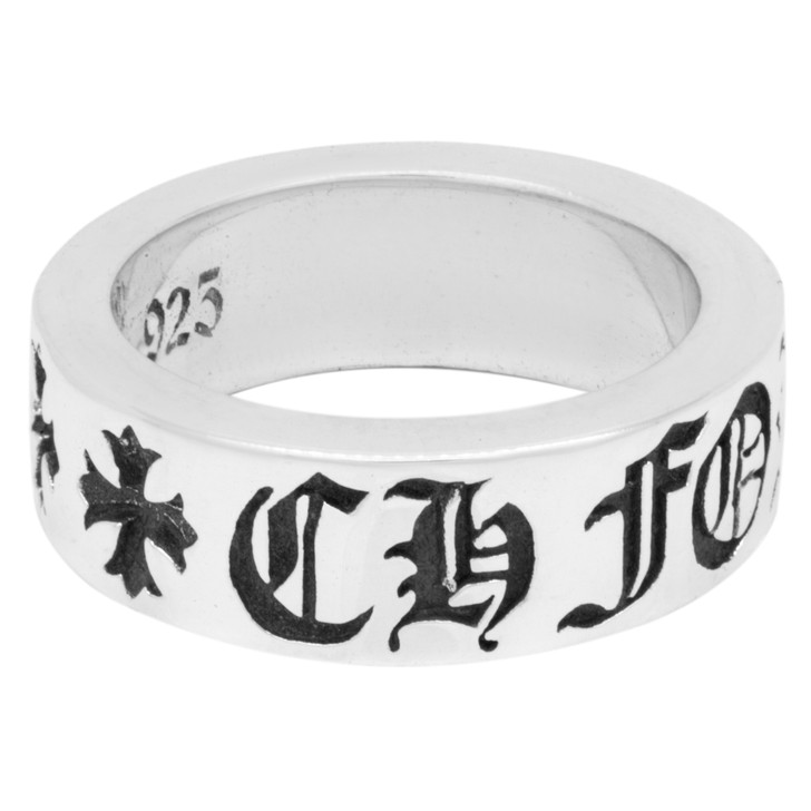 Chrome Hearts Sterling Silver 'Forever' Ring