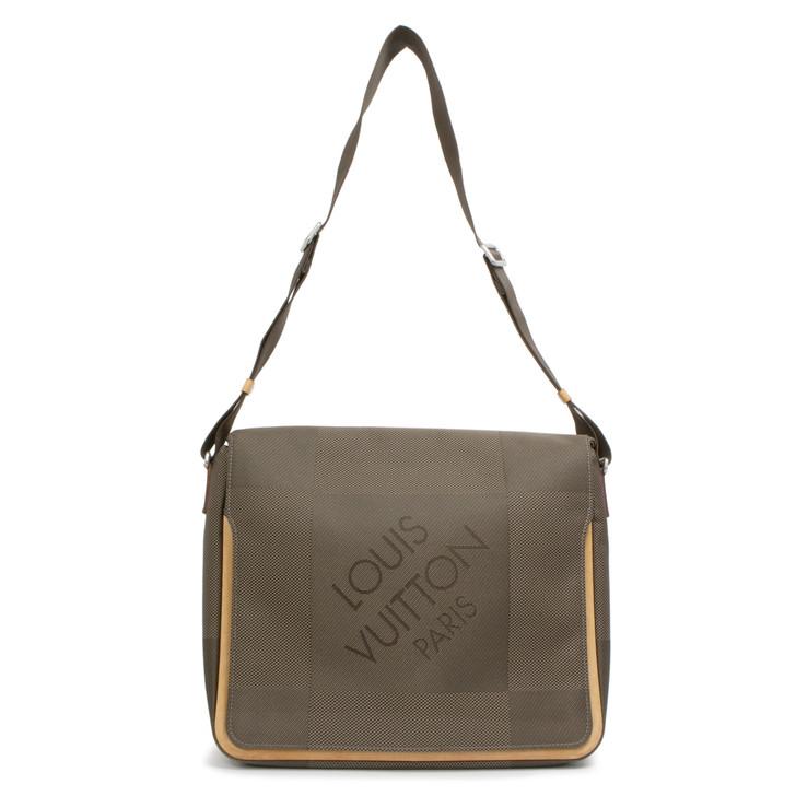 Louis Vuitton Terre Damier Geant Messenger  Bag