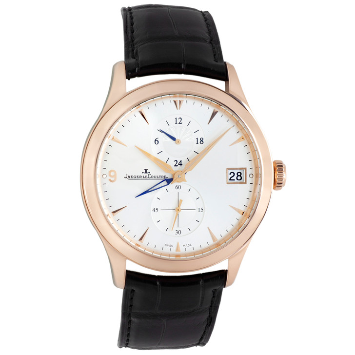 Jaeger-LeCoultre 18K Rose Gold Master Dual Time Automatic Q1622430