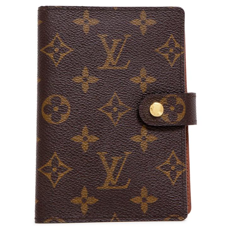 Louis Vuitton  Monogram  Small Ring Agenda Cover