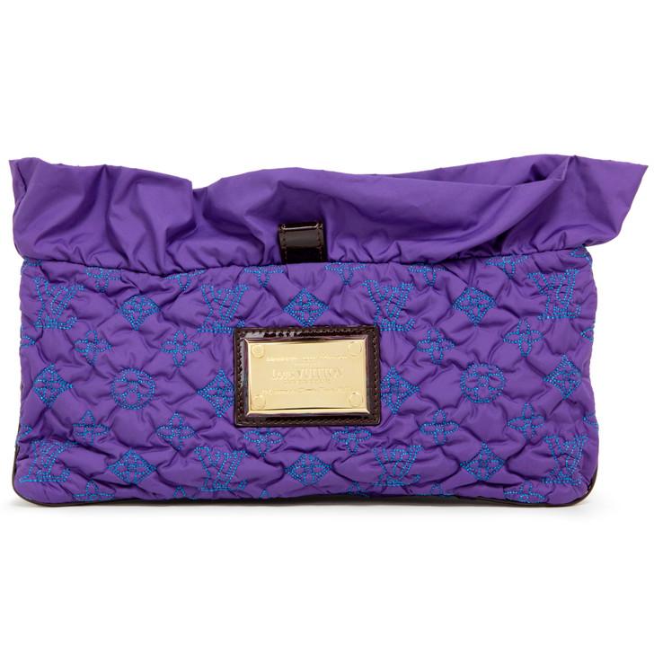 Louis Vuitton Violet Pochette Devi MM