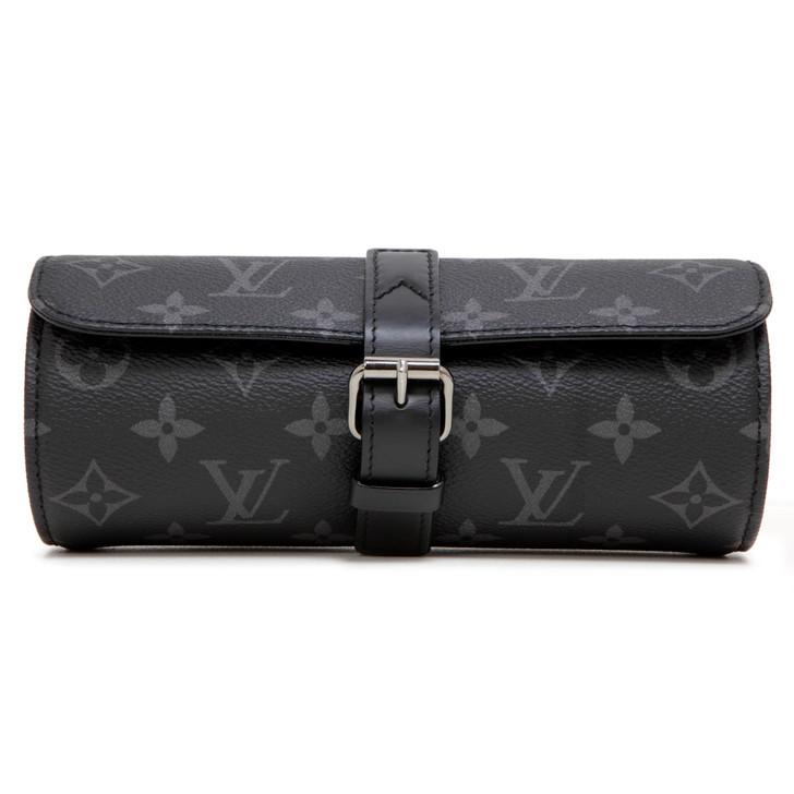 Louis Vuitton Monogram Eclipse 3 Watch Case