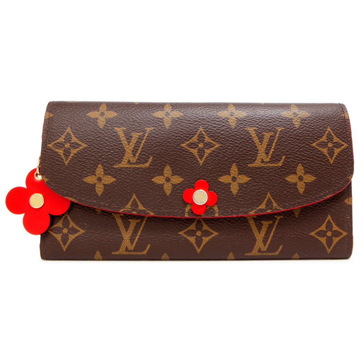 Louis Vuitton Monogram Bloom Flower Emilie Wallet