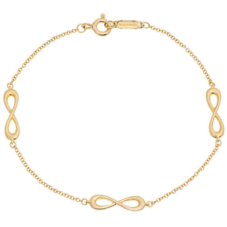 Tiffany & Co. 18K Yellow Gold Infinity Endless Bracelet