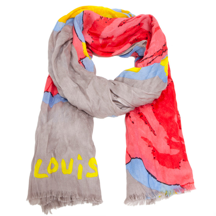 Louis Vuitton Stephen Sprouse Roses Scarf