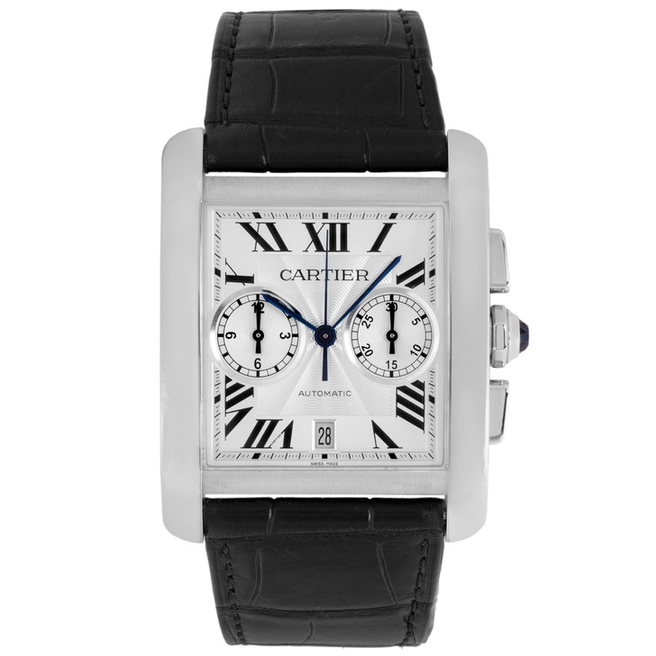 Cartier Stainless Steel Tank MC Chronograph W5330007