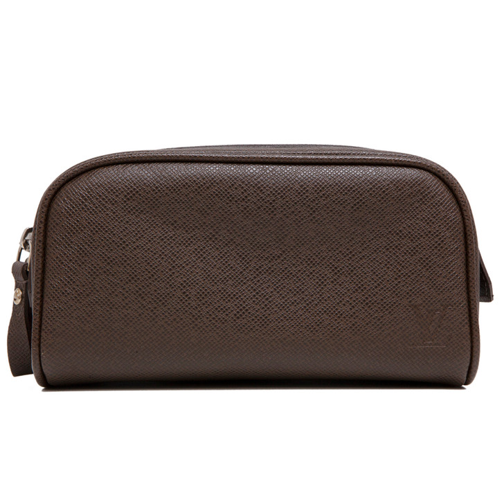 Louis Vuitton Grizzli Taiga Trousse Ivan Toiletry Bag