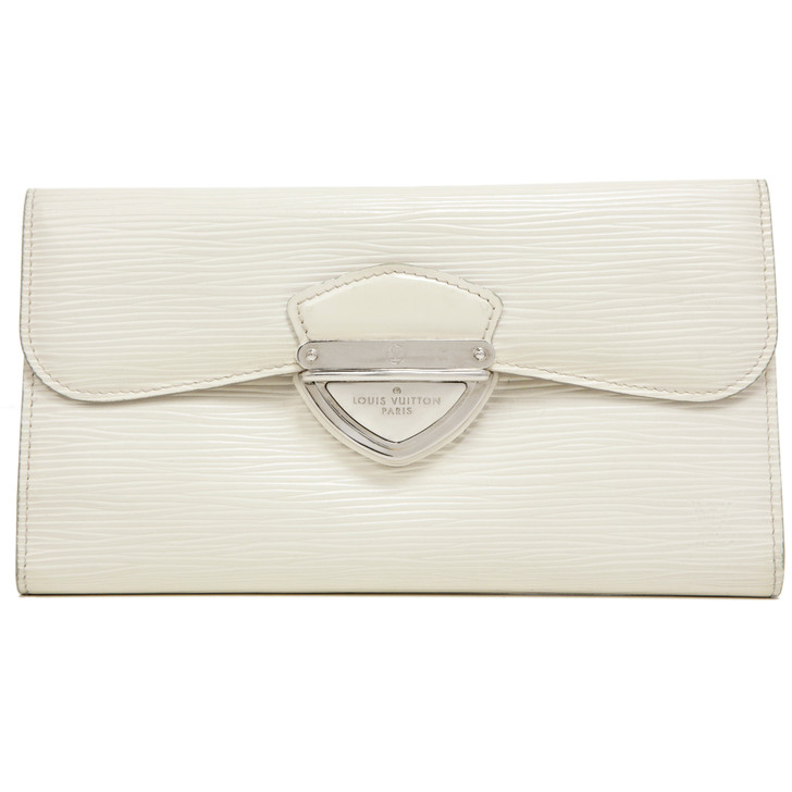 Louis Vuitton Ivory Epi Eugenie  Wallet