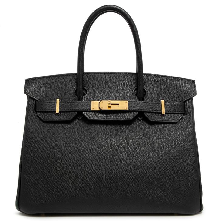 Hermes Black Epsom Birkin 30