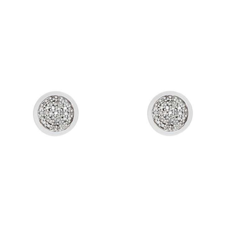 Links of London Sterling Silver Diamond Essentials Stud Earrings