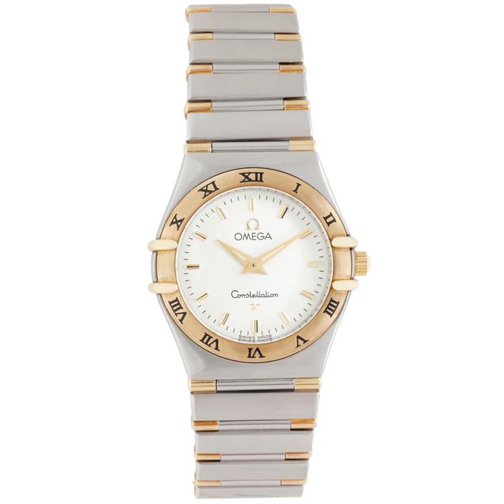 Omega Stainless Steel & 18K Constellation Quartz Ladies Watch 1372.30.00
