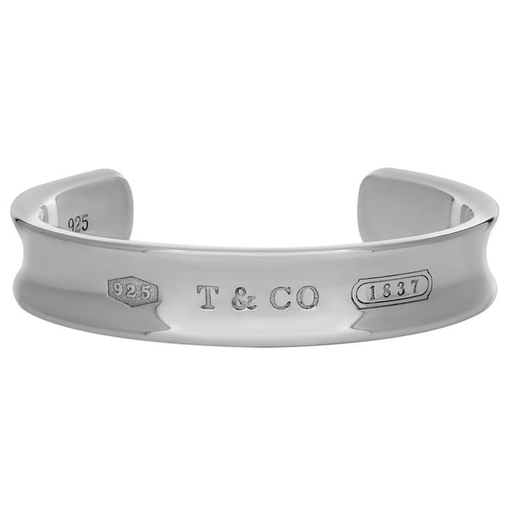 Tiffany & Co. Sterling Silver 1837 Cuff Bracelet