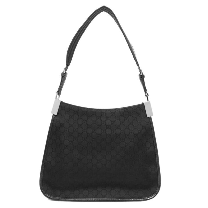 Gucci Black Micro GG Mini Shoulder  Bag
