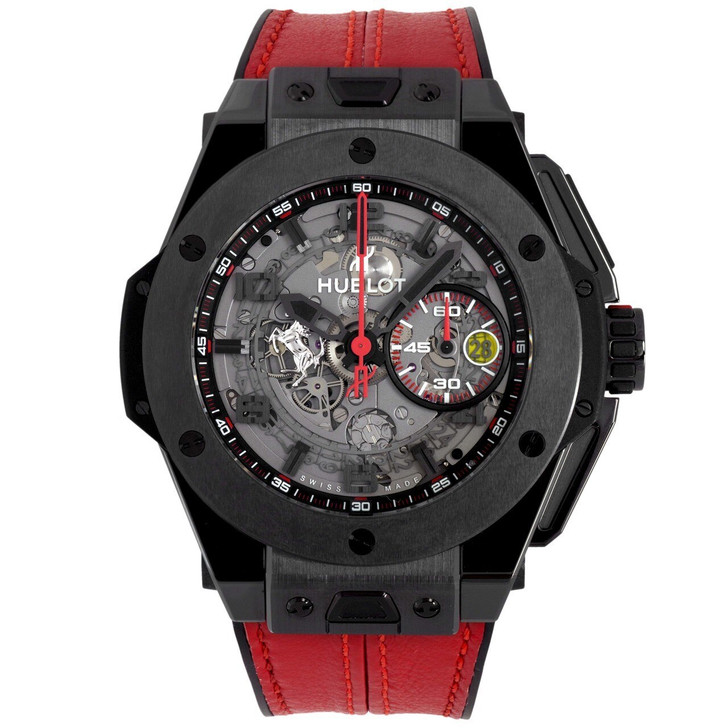 Hublot Black Ceramic Big Bang Unico Ferrari Watch 401.CX.0123.VR