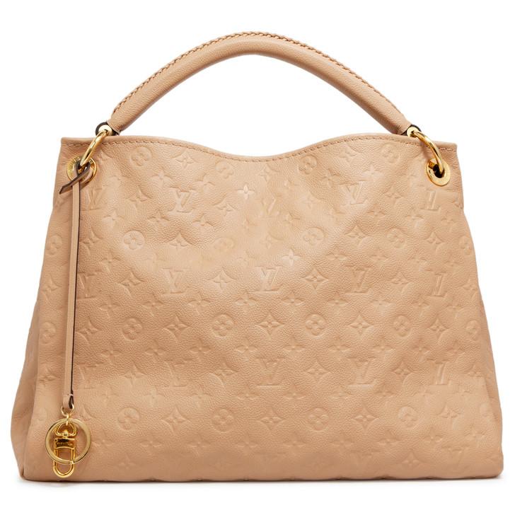 Louis Vuitton Beige Rose Artsy MM