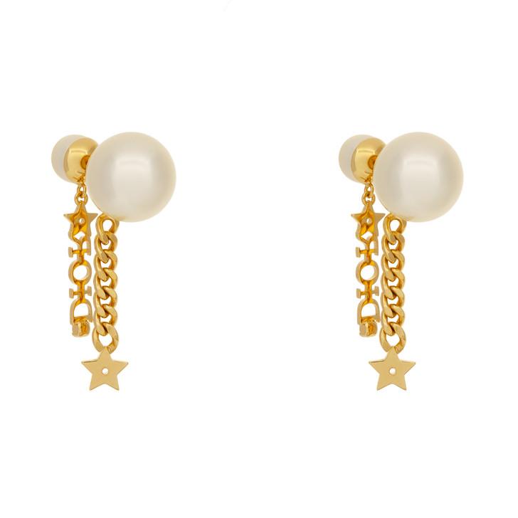 Christian Dior Mise en Dior Tribal Drop Earrings