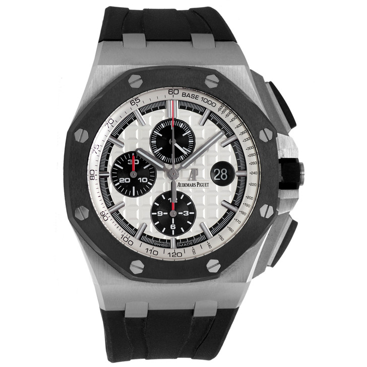 Audemars Piguet Stainless Steel & Ceramic Royal Oak Offshore Chronograph 26400SO.OO.A002CA.01