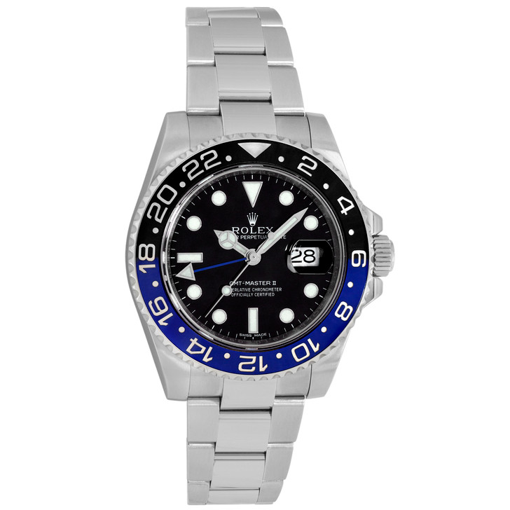 Rolex Stainless Steel GMT-Master II   116710BLNR