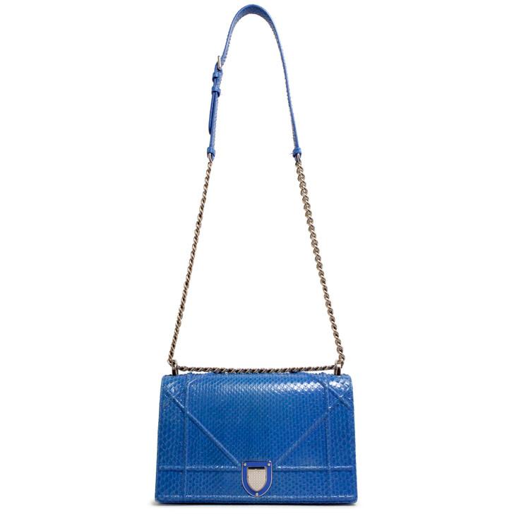 Dior Blue Python Medium Diorama