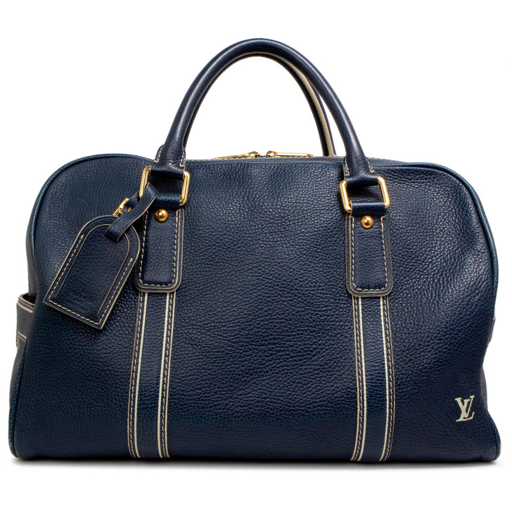 Louis Vuitton Blue Tobago Carryall