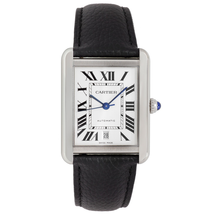 Cartier Stainless Steel Tank Solo XL Automatic Watch WSTA0029