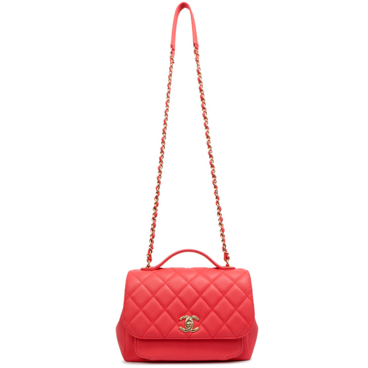 Chanel Pink Caviar Medium Business Affinity Flap Bag