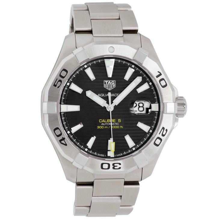 Tag Heuer Stainless Steel Aquaracer Automatic WAY2010.BA0927