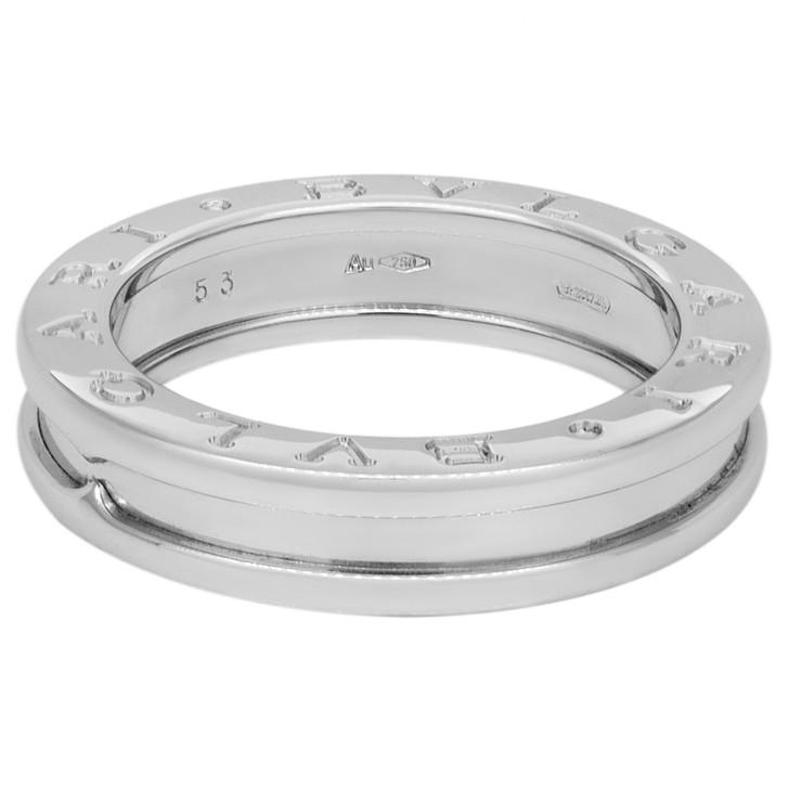 Bvlgari 18K White Gold B.zero1 One-Band Ring