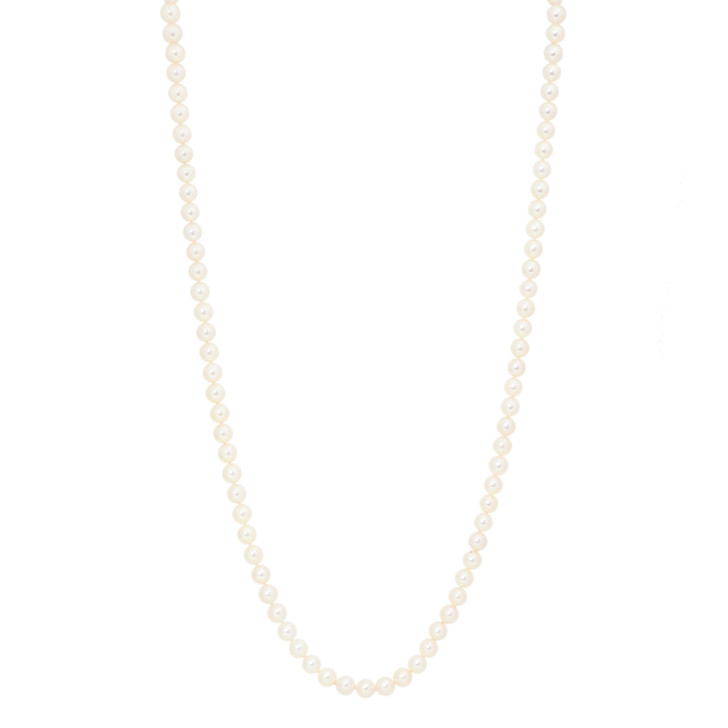 "34"" Akoya Pearl Strand Necklace"