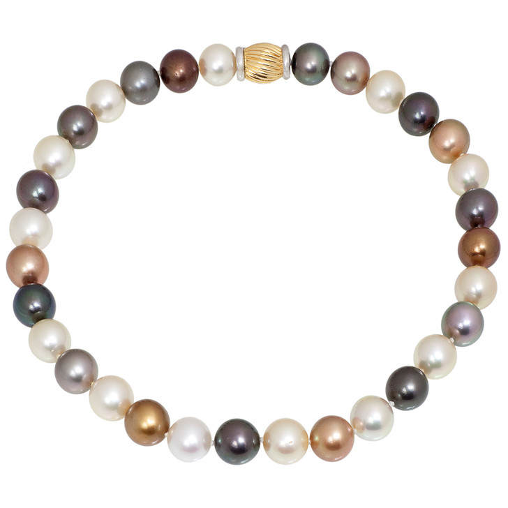 """17"""" Tahitian Mixed Pearl Necklace"""