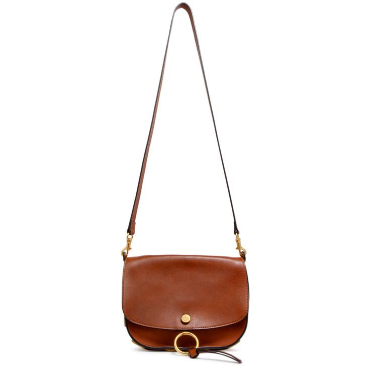 Chloe Caramel Calfskin Kurtis Shoulder Bag
