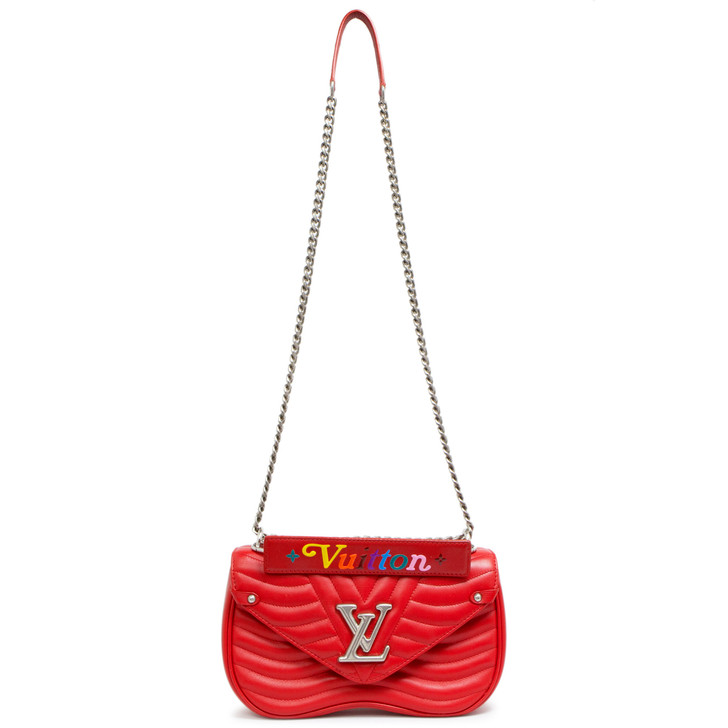 Louis Vuitton Ecarlate New Wave Chain Bag MM