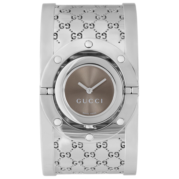 Gucci Stainless Steel 112 Twirl Watch