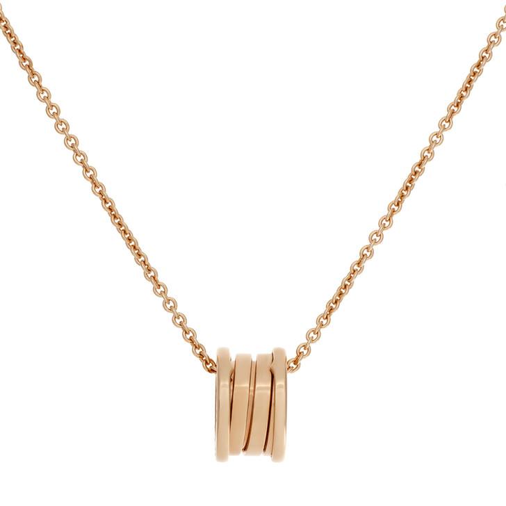 Bvlgari 18K Rose Gold B.Zero1   Pendant  Necklace