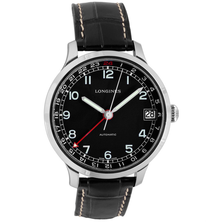 Longines Heritage Military 1938 GMT L2.789.4.53.3