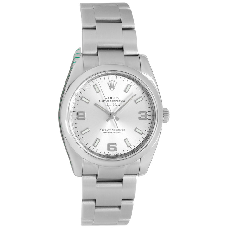 Rolex Stainless Steel Oyster Perpetual Air-King 114200