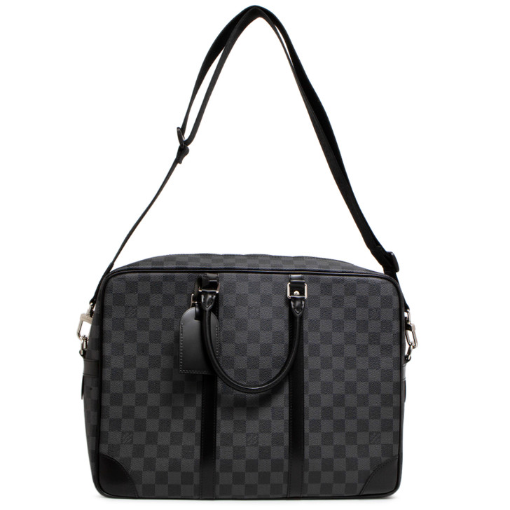Louis Vuitton Damier Graphite Porte-Documents Voyage GM