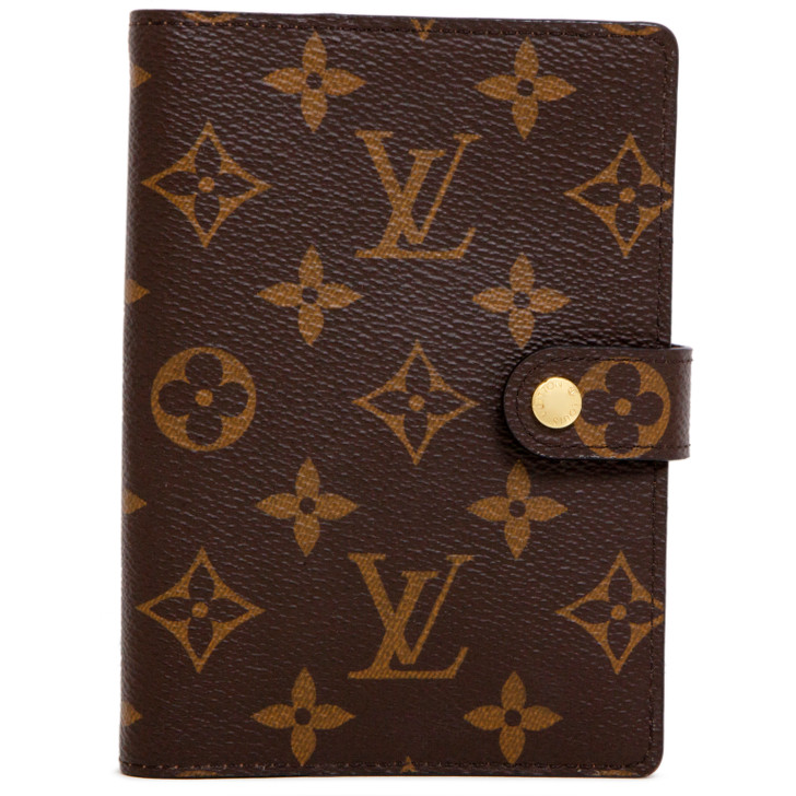 Louis Vuitton Monogram Small Ring Agenda  Cover
