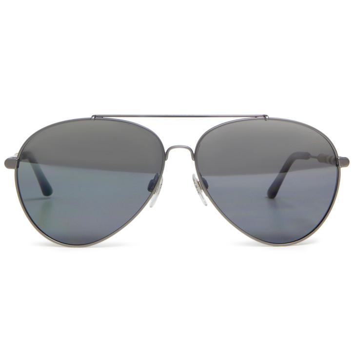 Burberry B 3092 Grey Aviator Sunglasses