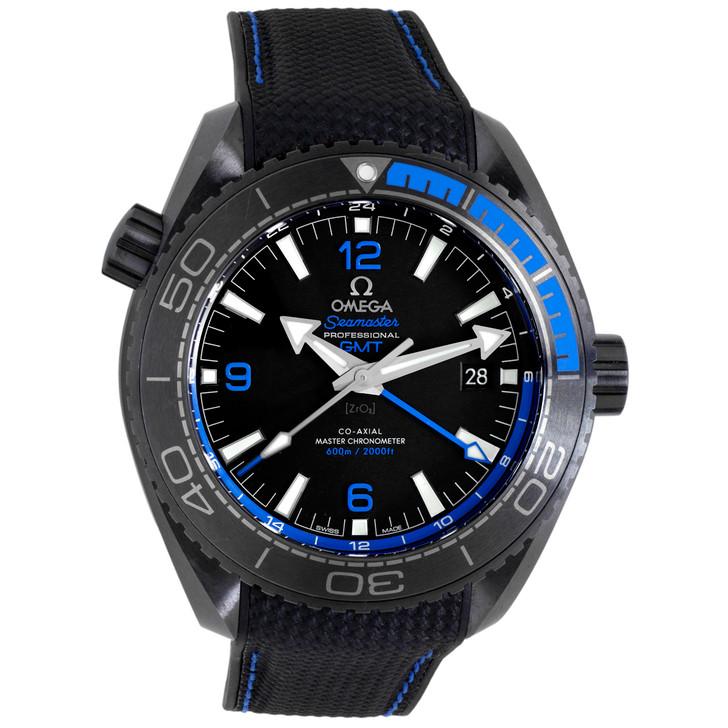 Omega Seamaster Planet Ocean 600M GMT Deep Black 215.92.46.22.01.002