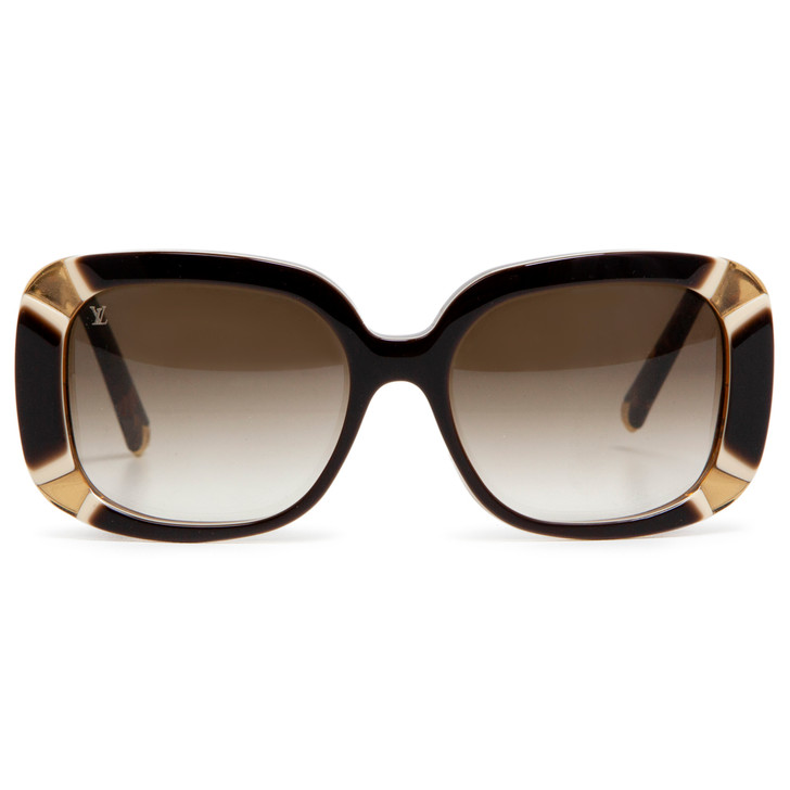 Louis Vuitton Z0401W Brown Anemone Sunglasses