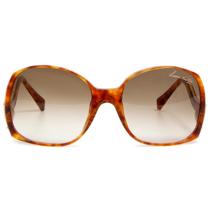Louis Vuitton Tortoise Shell Monogram Gina Z0205E Sunglasses