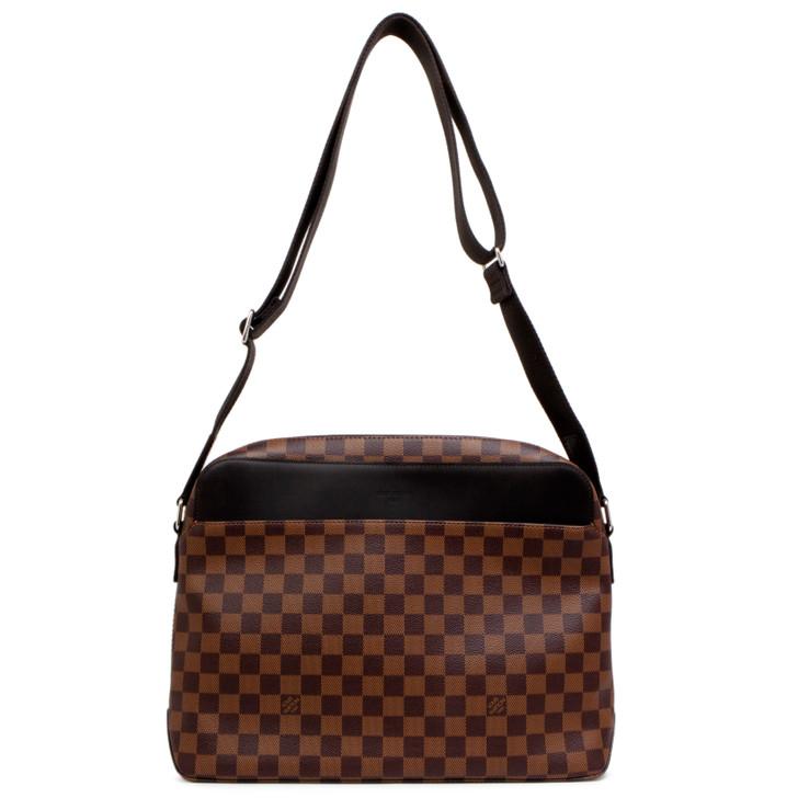 Louis Vuitton Damier Ebene Jake MM Messenger Bag