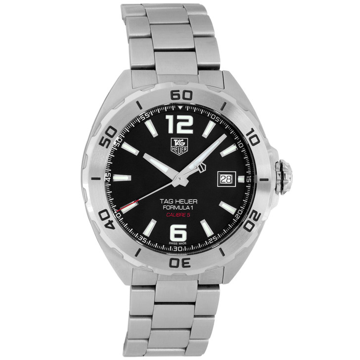 Tag Heuer Stainless Steel Formula 1 Automatic Watch WAZ2113.BA0875
