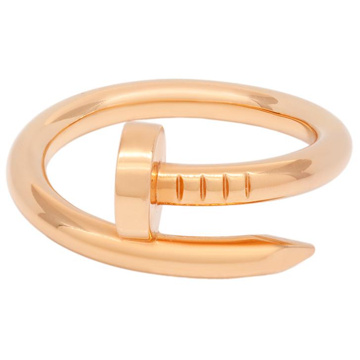 Cartier 18K Pink Gold Juste  Un Clou  Ring